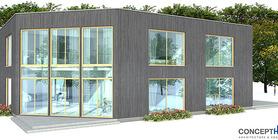 duplex house 04 contemproary duplex house plan ch160d  8 .jpg