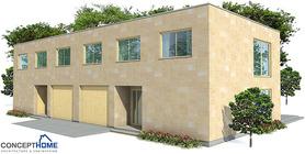 duplex house 07 contemproary duplex house plan ch160d  4 .jpg