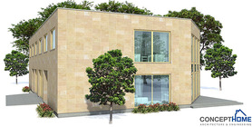duplex house 08 contemproary duplex house plan ch160d  5 .jpg