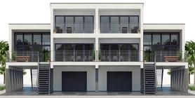 Duplex House Plan CH546D