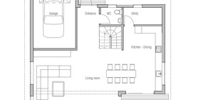 modern houses 154CH 1F 120813 house plan.jpg