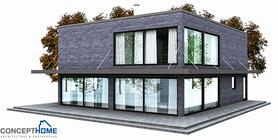 modern houses 001 house plan ch148.JPG