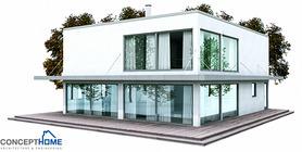 modern houses 02 house plan ch148.JPG