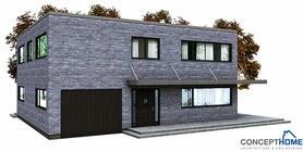 modern houses 06 house plan ch148.JPG
