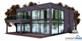 modern houses 02 house plan ch149.JPG