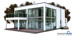 modern houses 03 house plan ch149.JPG
