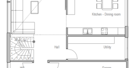 modern houses 10 house plan ch149.png