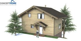 sloping lot house plans 03 house plan ch59.JPG