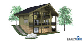 sloping lot house plans 02 house plan ch58.JPG