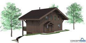 sloping lot house plans 04 house plan ch58.JPG
