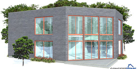 contemporary home 08 house plan ch160.jpg