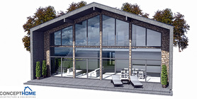 contemporary home 05 house plan ch157.JPG