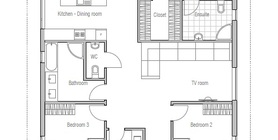 small houses 10 071CH 1F house plan.jpg