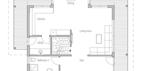 modern houses 10 house plan ch179.jpg