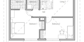 cost to build less than 100 000 12 house plan ch187.jpg
