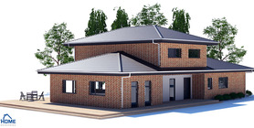 modern houses 03 house plan ch196.jpg