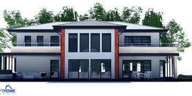 Large Modern House Plan With Four Bedrooms