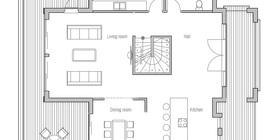 modern houses 10 house plan ch204.jpg