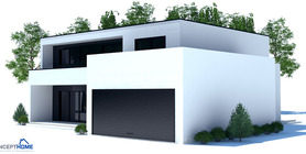contemporary home 04 house plan ch206.jpg