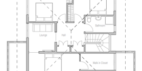 modern houses 11 home plan ch236.png