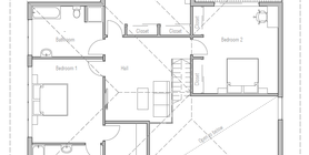 modern houses 11 house plan ch264.png