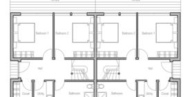 duplex house 10 house plan ch99d.png