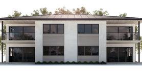 Duplex House Plan CH177D