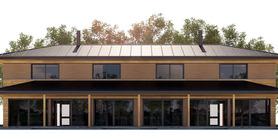 Duplex House Plan CH187D
