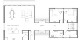 modern houses 10 house plan ch364.png