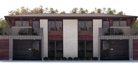 Duplex House Plan CH244D