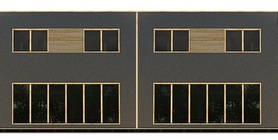 Duplex House Plan CH392D