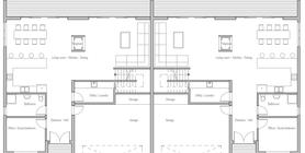 duplex house 10 house plan ch294D.png