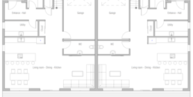 duplex house 10 home plan ch408.png