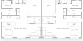 duplex house 10 home plan ch408.png