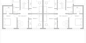 duplex house 11 home plan ch408.png