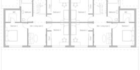 duplex house 11 home plan ch408.png