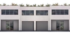 Duplex House Plan CH356D