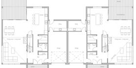 duplex house 10 house plan ch356.jpg