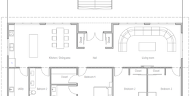 coastal house plans 10 Floor plan CH538.png
