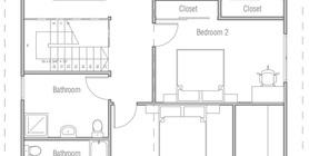modern houses 11 house plan ch467.jpg