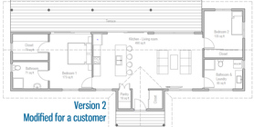 cost to build less than 100 000 20 house plan CH468.jpg