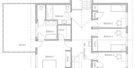 modern houses 11 house plan ch485.jpg