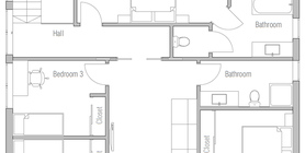 small houses 11 house plan ch488.jpg