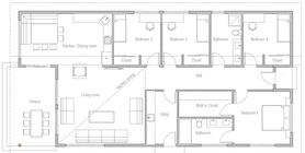 small houses 21 house plan ch494.jpg