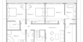 modern houses 11 house plan ch504.jpg