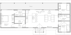 cost to build less than 100 000 10 house Plan 520CH 1.jpg