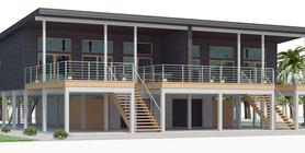 Duplex House Plan CH536D