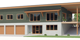 sloping lot house plans 08 house plan 582CH 1.jpg