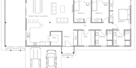 sloping lot house plans 20 Floor plan CH583.jpg