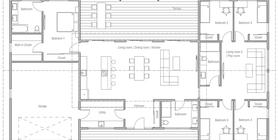 modern houses 20 House Plan CH599.jpg